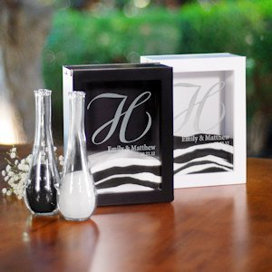 Unity Sand Ceremony Shadow Box Set (2 Colors) image