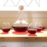 Personalized Wine Decanter & Tipsy Tasters Set