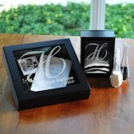 Personalized Sand Ceremony Shadow Box Set