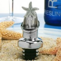 Starfish Combo Wine Pourer and Bottle Stopper Favors