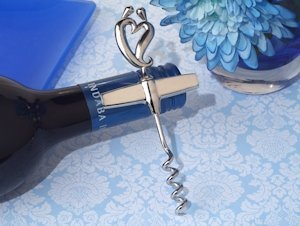 Divine Two Hearts Become One Wine Opener image