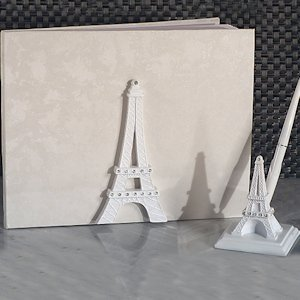 Elegant Paris Wedding Accessory Set image