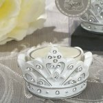 Sparkling Tiara Candle Holders
