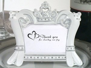 Sparkling Tiara Photo Frame Favors image