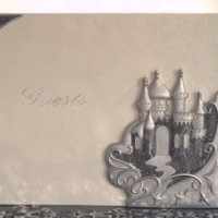 Platinum Castle Collection Guest Book