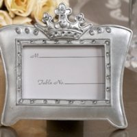 Queen for a Day Sparkling Tiara Place Card Frames