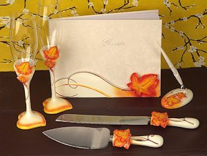 Splendid Autumn - Fall Wedding Accessory Set image