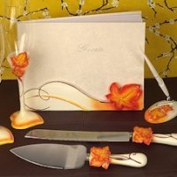Splendid Autumn - Fall Wedding Accessory Set