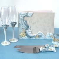 Oceans of Love Wedding Accessory Collection