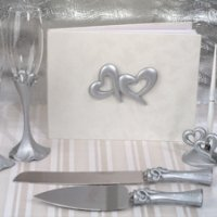 Two Hearts That Beat as One Reception Accessory Set
