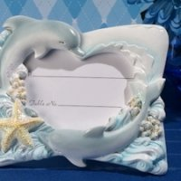 Oceans of Love Place Card Photo Frame
