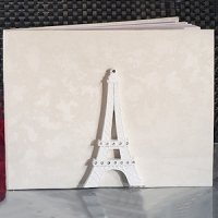 Elegant Paris Wedding Collection Guest Book