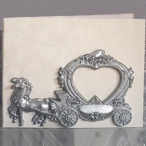 Enchanted Wedding Coach Guest Book image