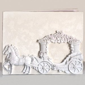 Enchanted Fairytale Wedding Coach Guest Book image