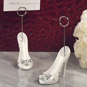 Belle of the Ball Slipper Design Place Card Holder image