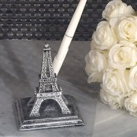Stunning Eiffel Tower Wedding Pen Set