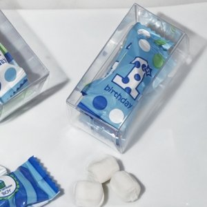 First Birthday Gift Box Mint Candy Favors (Boy or Girl) image