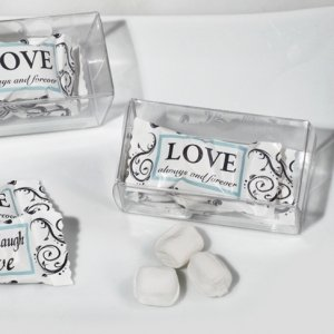 Live Love and Laugh Gift Box Mint Candy Favors image