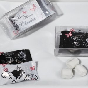 With This Ring Design Mint Candy Favors image