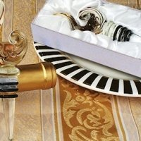 Art Deco Stylish Swirl Wine Stopper
