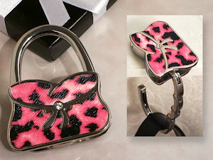 Wild Side Pink Handbag Holder Favor image
