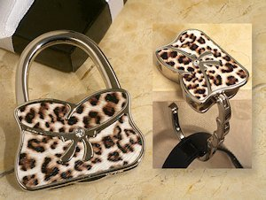 Leopard Design Handbag Holder Favor image
