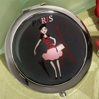Paris Themed Favors - Compact Mirrors