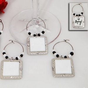 DIY Ceramic Wine Charms image
