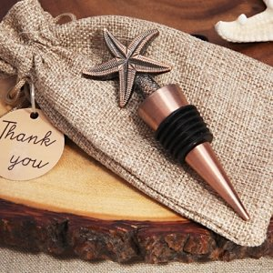 Copper Starfish Vintage Inspired Bottle Stopper image