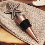 Copper Starfish Vintage Inspired Bottle Stopper