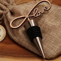Vintage Endless Love Bottle Stopper