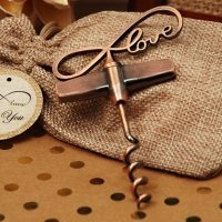 Vintage Endless Love Wine Opener
