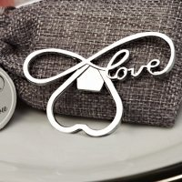 Endless Love Chrome Bottle Opener