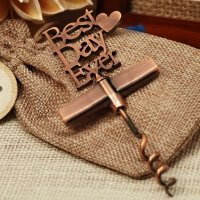 Our Best Day Ever Copper Wine Opener