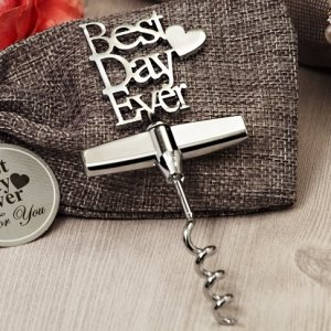 Our Best Day Ever Chrome Wine Opener image