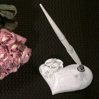 Crystal Calla Lily Pen Set