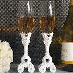 Enchanted Fairytale Wedding Toasting Flutes