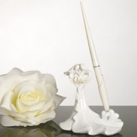 Calla Lily Bouquet Guest Book Pen