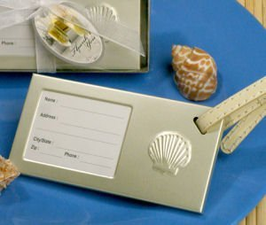 Seashell Luggage Tag Party Favors image