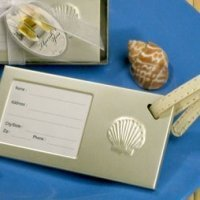Seashell Luggage Tag Party Favors