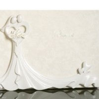Calla Lily Bouquet Guest Book