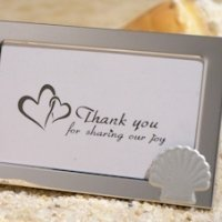 Beach Theme Metal Photo Frame Favors