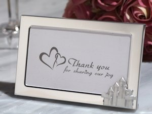 Enchanted Castle Metal Photo Frame Favors image