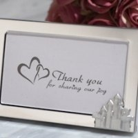Enchanted Castle Metal Photo Frame Favors