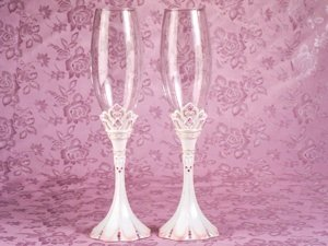 Princess Toasting Glasses Set image