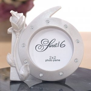Photo Frame Party Favors for Sweet 16 image