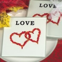 Unique Fall Love Coaster Set