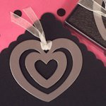 Heart Within Heart Bookmark Favor