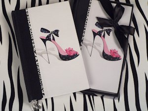 High Heel Diva Phone Book Favor image