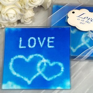 Love is in the Air Glass Coasters image